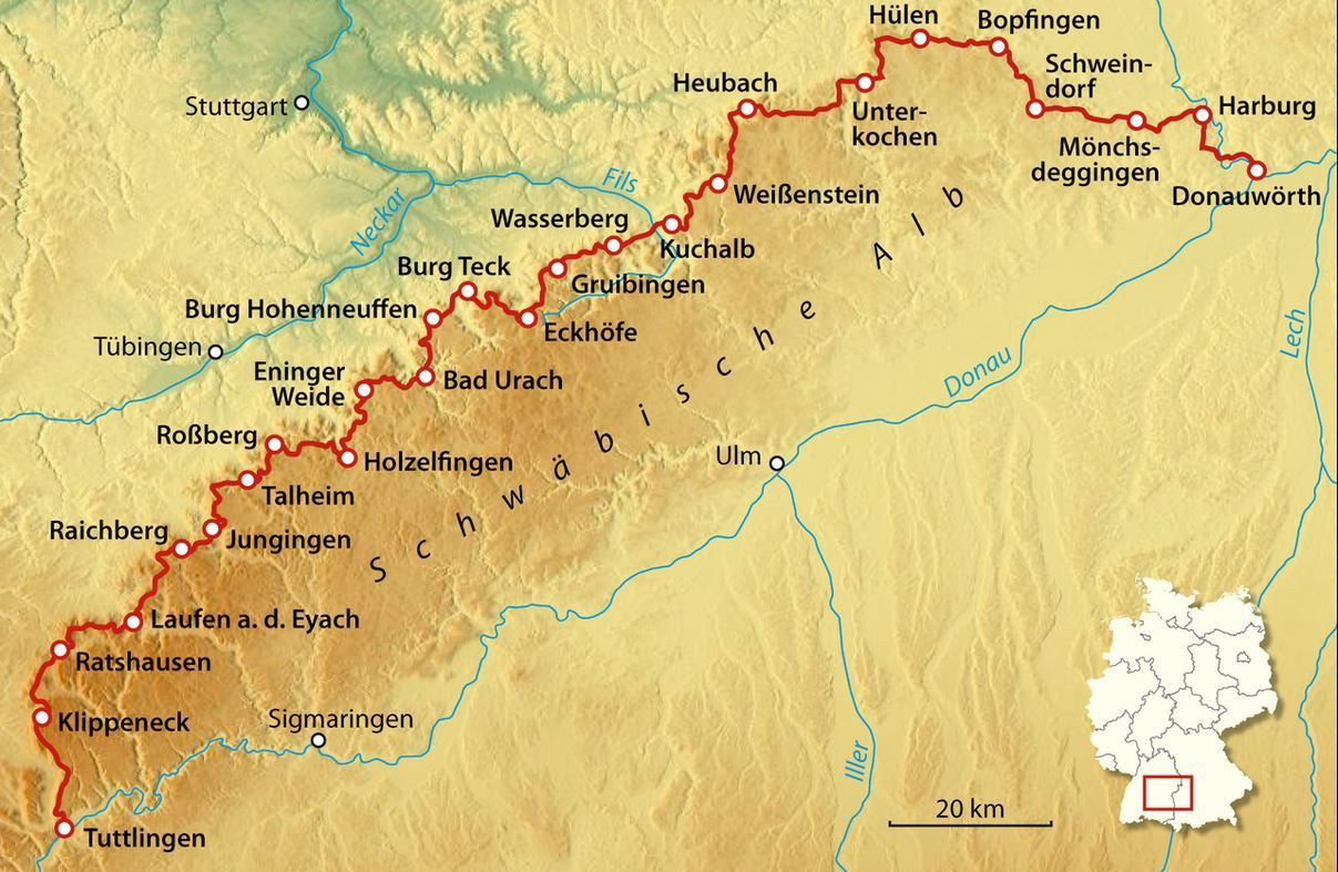 Map_Suabian Alb_Wikivoyage