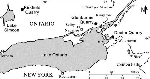 Mitchel et al. (2004)_Lake Simcoe_Map