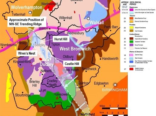 Geological Map of the Black Country_Dudley Museum