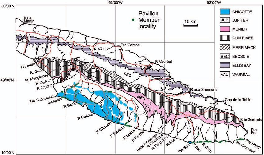 Geological-map-of-the-revised-Jupiter-Formation-on-Anticosti-Island_Copper & Jin (2015)